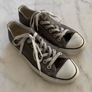 Grey Allstar Converse Sneakers